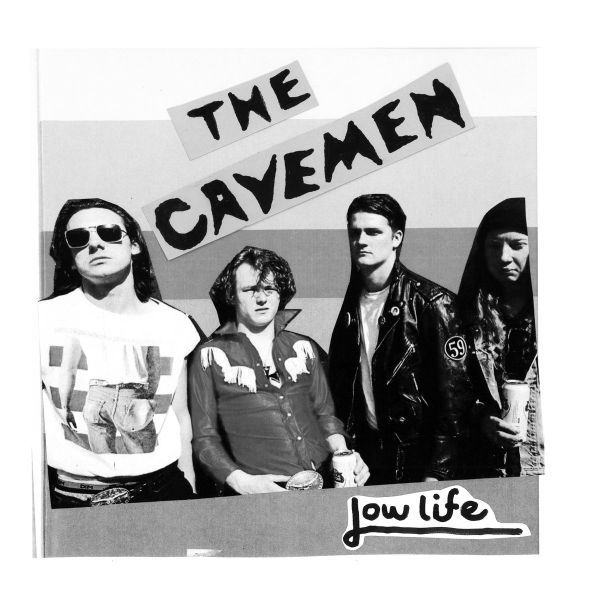 CAVEMEN, lowlife cover