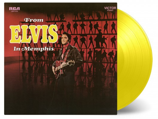 ELVIS PRESLEY, from elvis in memphis cover