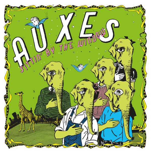 Cover AUXES, sittin´ by the window ep