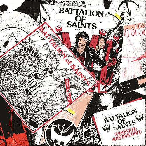 BATTALION OF SAINTS, complete discography cover