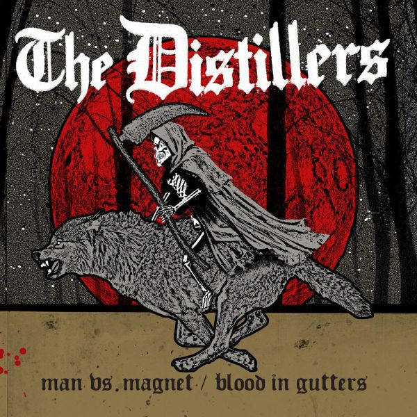 Cover DISTILLERS, man vs. magnet
