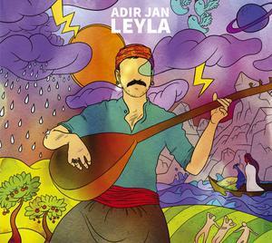 ADIR JAN, leyla cover