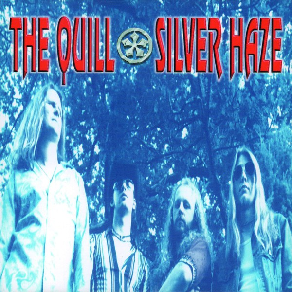 THE QUILL, silver haze cover
