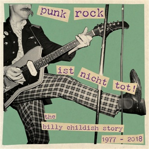 BILLY CHILDISH, punkrock ist nicht tot-billy childish story 77-19 cover