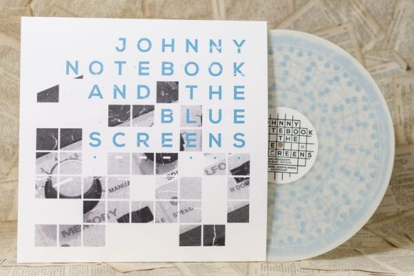 Cover JOHNNY NOTEBOOK & THE BLUE SCREENS, s/t