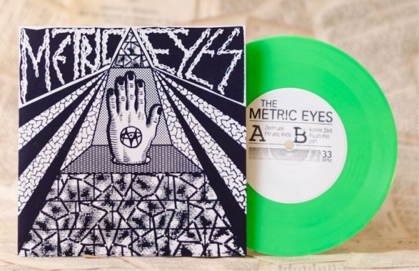 Cover METRIC EYES, s/t