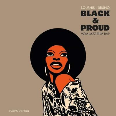 HERVÉ BOURHIS, black & proud cover