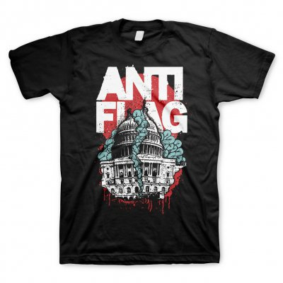 ANTI-FLAG, washington dc (boy) black cover