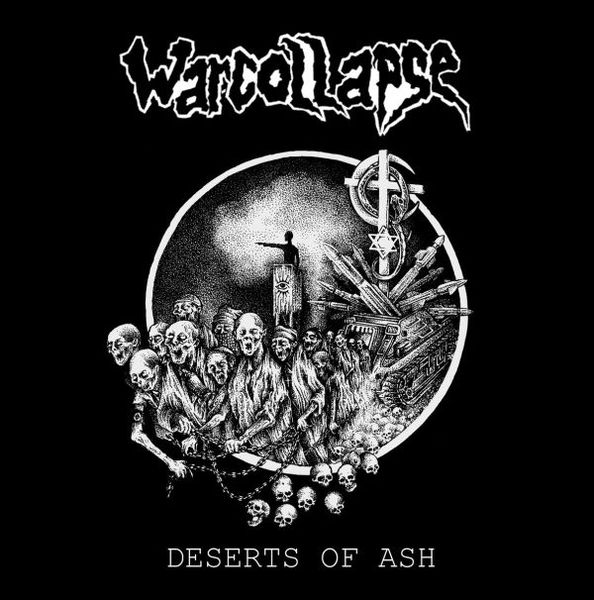 WARCOLLAPSE, deserts of ash cover