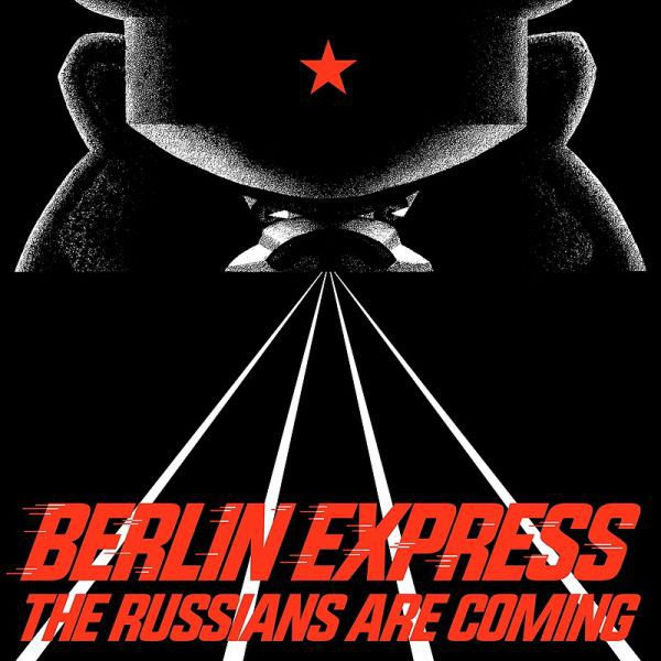 Cover BERLIN EXPRESS, the russians are coming