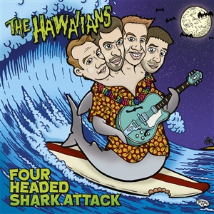 Cover HAWAIIANS, four-headed shark attack