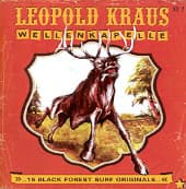 LEOPOLD KRAUS WELLENKAPELLE, 15 black forest surf originals cover