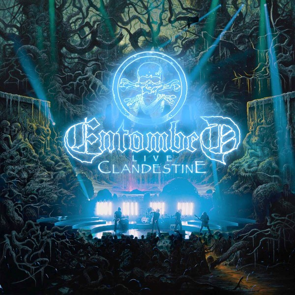 Cover ENTOMBED, live clandestine
