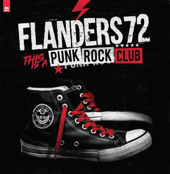Cover FLANDERS 72, this is a punkrock club