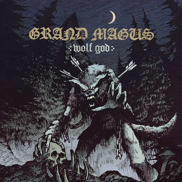 GRAND MAGUS, wolf god cover
