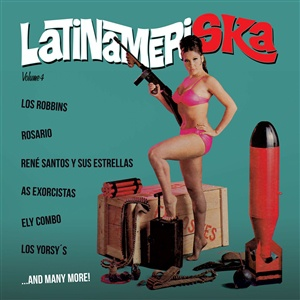 V/A, latinameriska vol. 4 cover