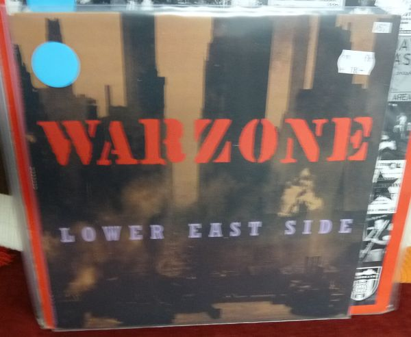 Cover WARZONE, lower east side (USED)