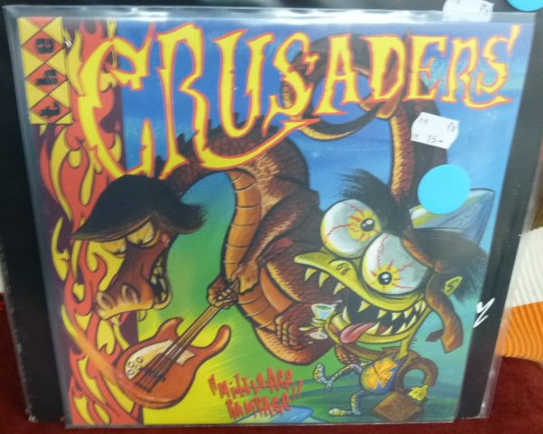CRUSADERS, middle-age rampage (USED) cover