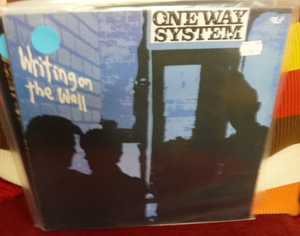 ONEWAY SYSTEM, writing on the wall (USED) cover