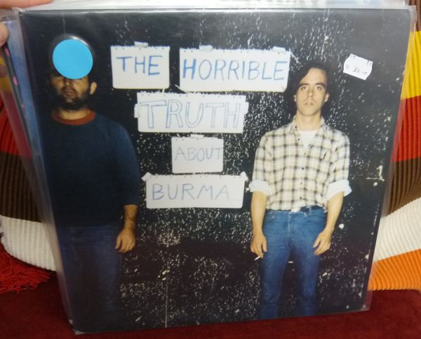 MISSION OF BURMA, horrible truth about burma (USED) cover