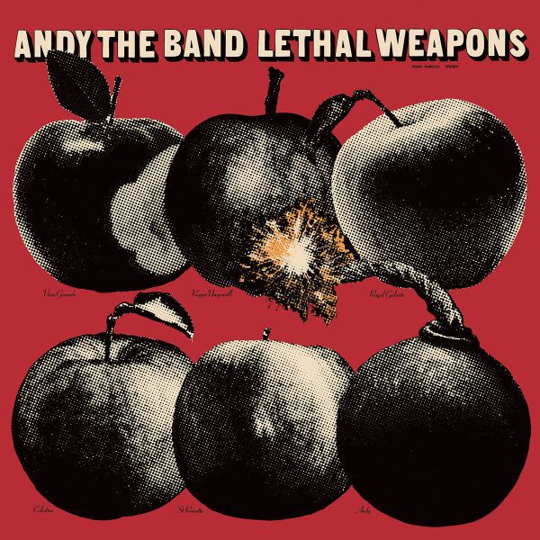 Cover ANDY THE BAND, leathal weapons