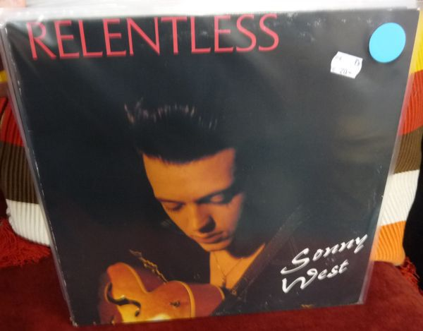 SONNY WEST, relentless (USED) cover
