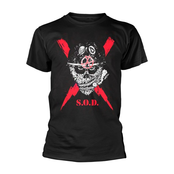 S.O.D., scrawled lightning (boy) black cover