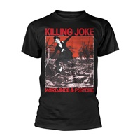 KILLING JOKE, wardance & psyche (boy) black cover