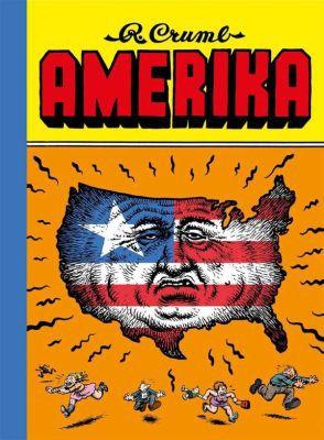 ROBERT CRUMB, amerika cover