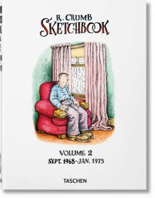 ROBERT CRUMB, sketchbook vol. 02 (1968-1975) cover