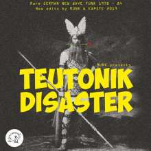 V/A, teutonik disaster / german new wave funk 1979-1983 cover