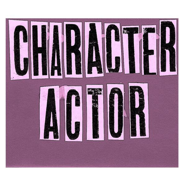 CHARACTER ACTOR, s/t ep cover
