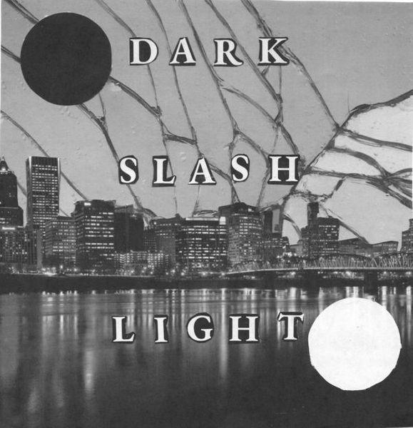 DARK/LIGHT, dark slash light ep cover