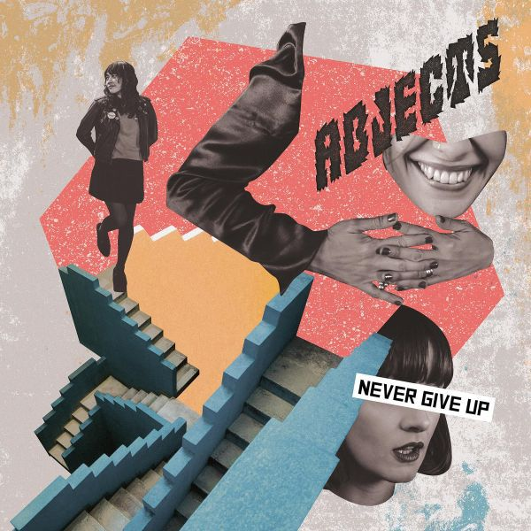ABJECTS, never give up cover