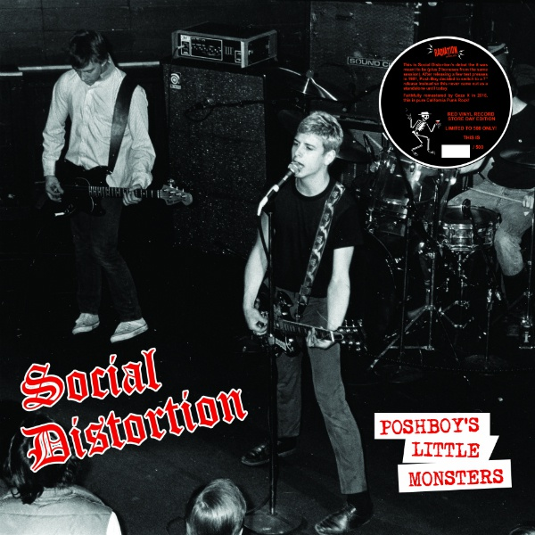 SOCIAL DISTORTION, posh boys´ little monsters cover
