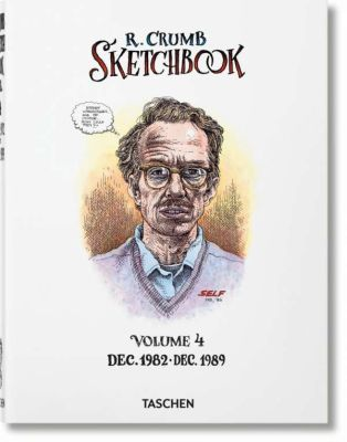 ROBERT CRUMB, sketchbook vol. 04 (1982-1989) cover