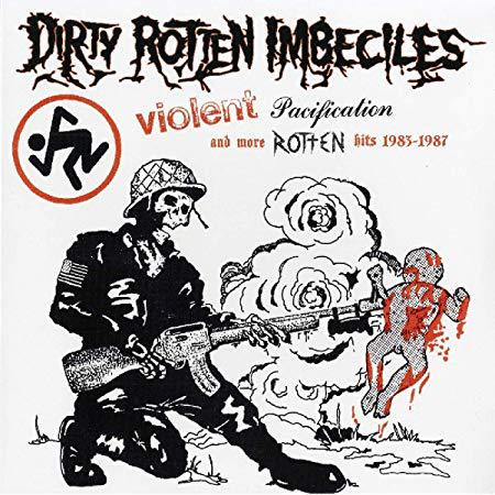 Cover D.R.I., violent pacification and more hits