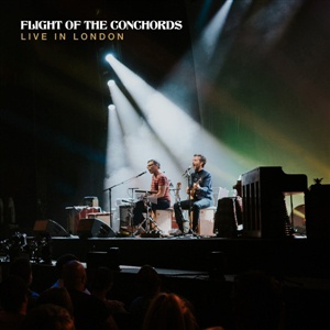 FLIGHT OF THE CONCHORDS, live in london cover