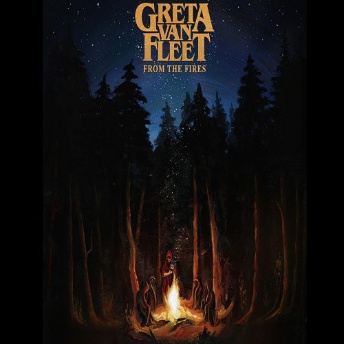GRETA VAN FLEET, from the fires cover