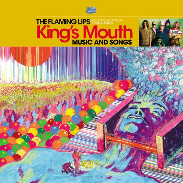 FLAMING LIPS, king´s mouth cover