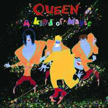 Cover QUEEN, a kind of magic