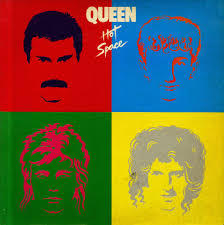 Cover QUEEN, hot space