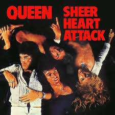 Cover QUEEN, sheer heart attack