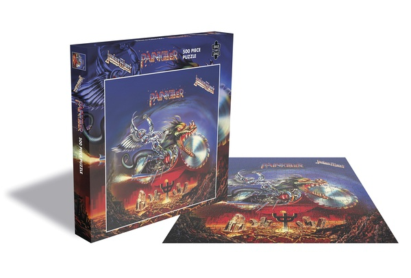 JUDAS PRIEST, painkiller (500 piece jigsaw puzzle) cover