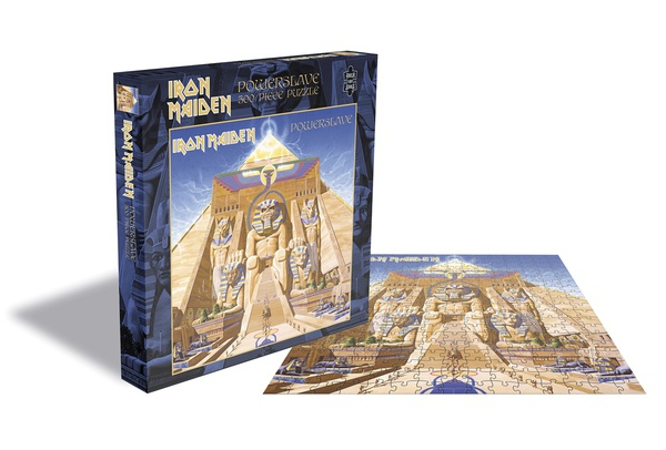 IRON MAIDEN, powerslave (500 piece jigsaw puzzle) cover