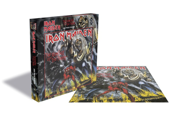 IRON MAIDEN, the number of the beast (500 piece jigsaw puzzle) cover