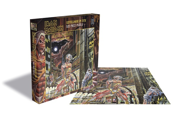 IRON MAIDEN, somewhere in time (500 piece jigsaw puzzle) cover