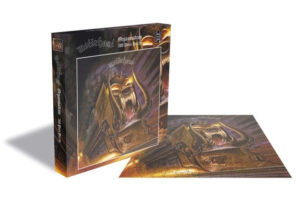MOTÖRHEAD, orgasmatron (500 piece jigsaw puzzle) cover
