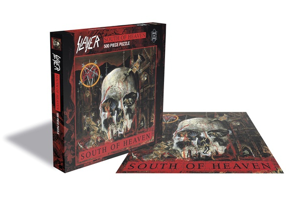 SLAYER, south of heaven (500 piece jigsaw puzzle) cover