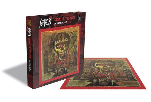 SLAYER, seasons in the abyss (500 piece jigsaw puzzle) cover